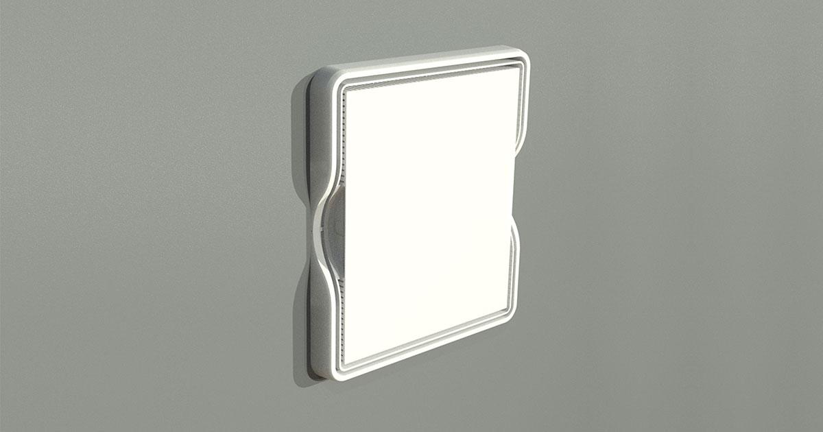 P/N: 125-1568 - PR1500-A Allfield (base w/in-wall mounting tabs, lid w/frame)
