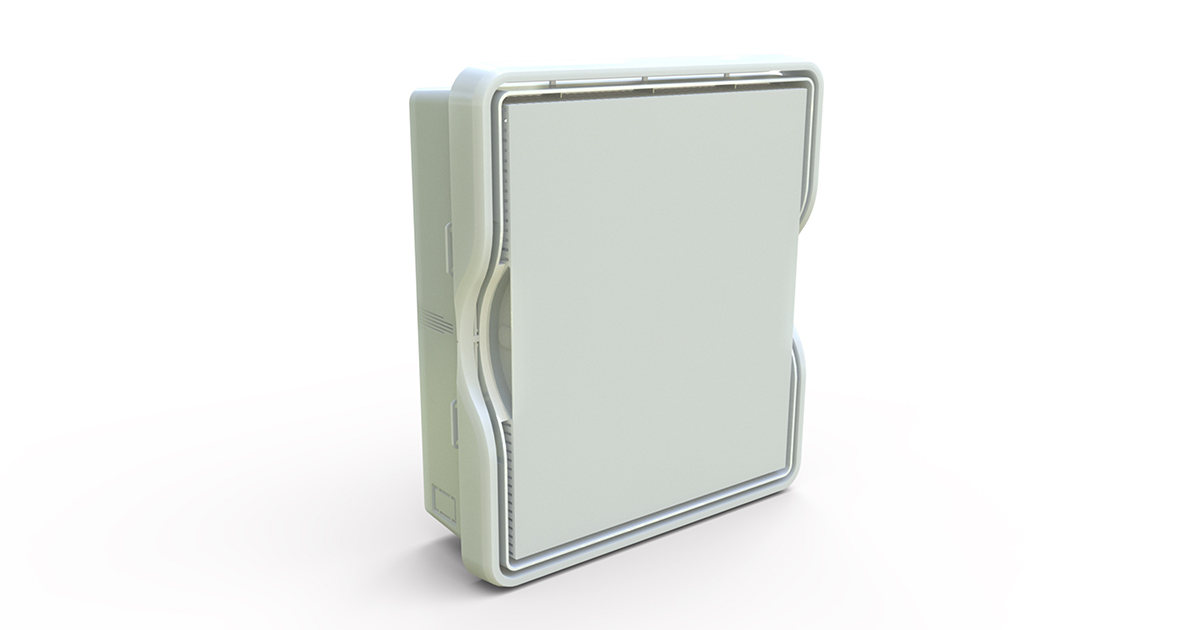 P/N: 125-1568 - PR1500-A Allfield (base w/in-wall mounting tabs, lid w/frame)