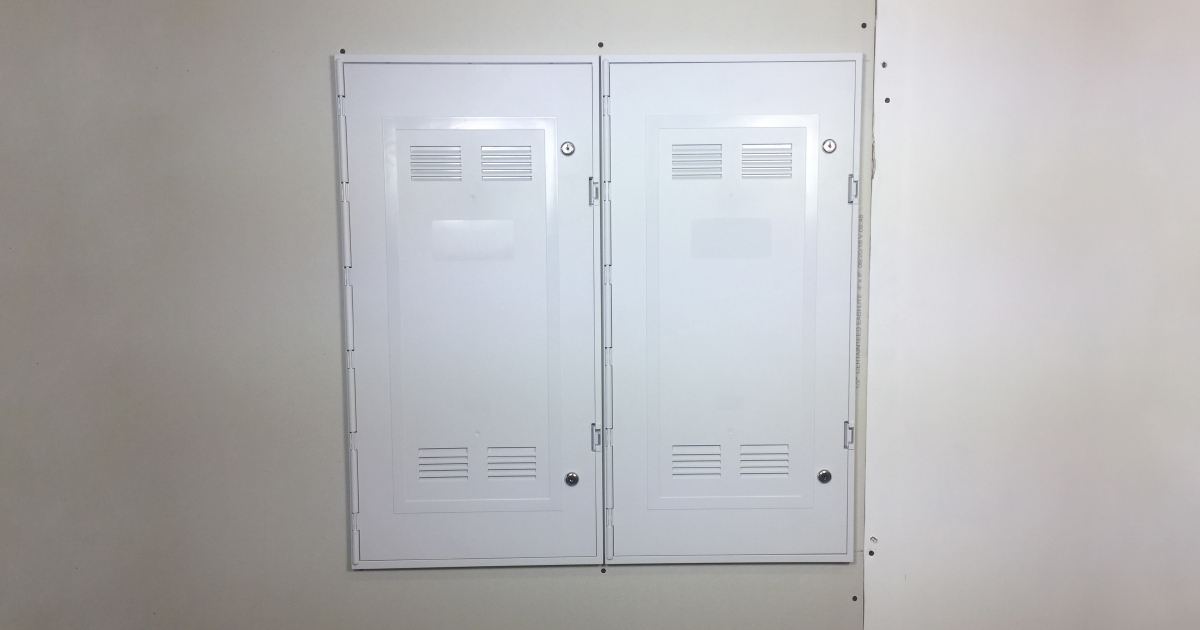 Side-by-side installation with narrow frame option
