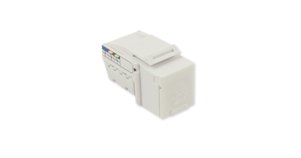 Three Line Voice – RJ12 Keystone Jack
