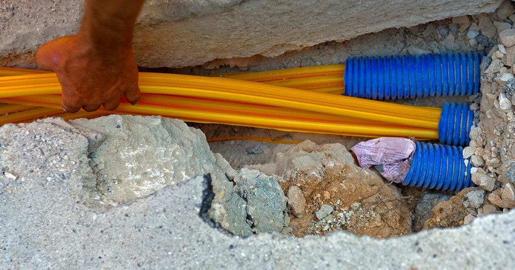 underground fiber