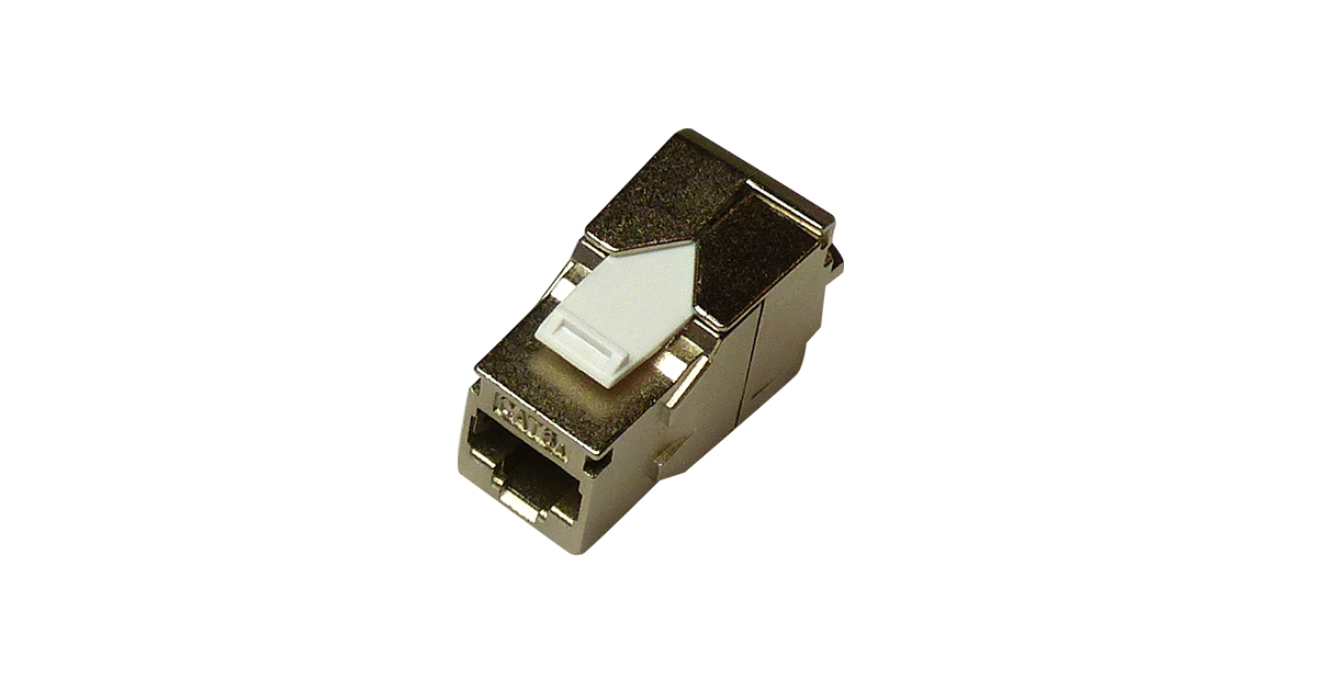 125-1629-WT - Cat6A Shielded