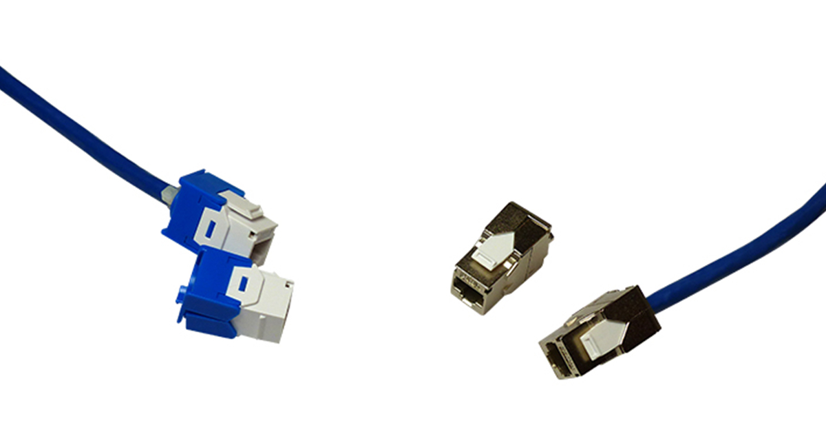 Cat6A Jacks – 180 Keystones