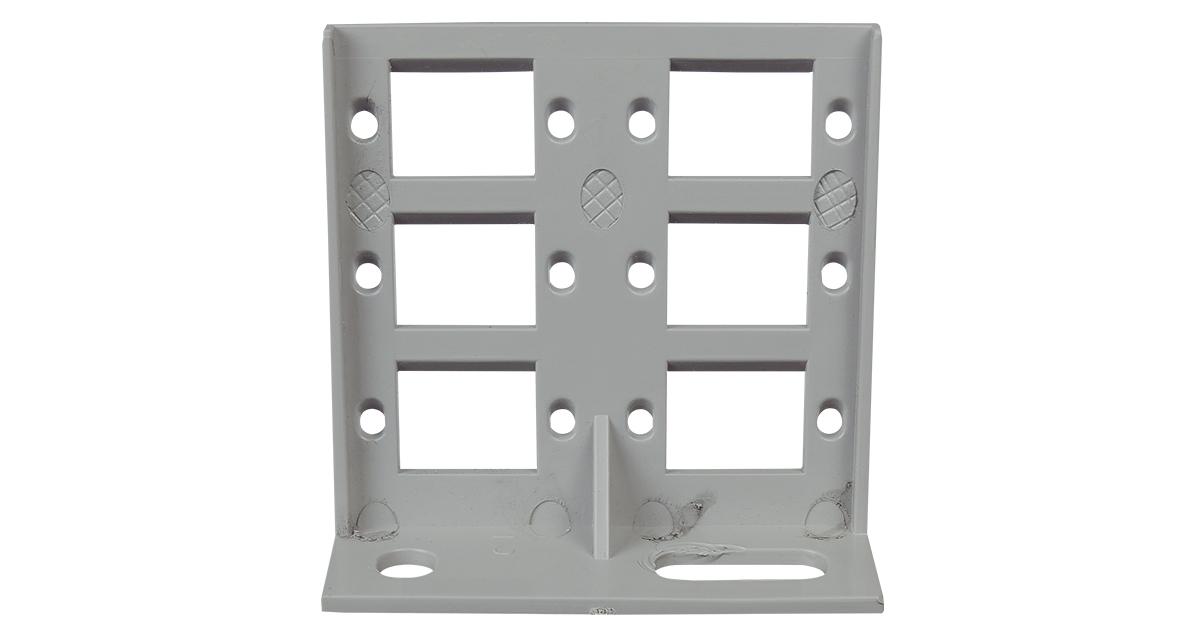 P/N: 125-1234 - 6 Position Bracket