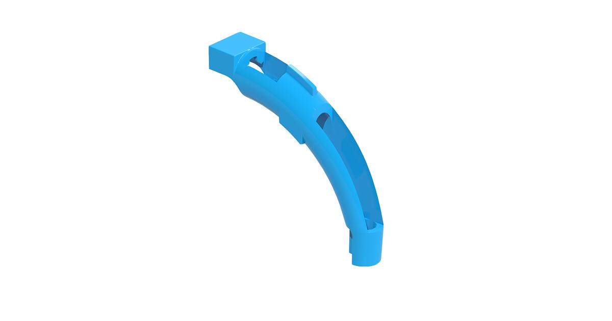 P/N: 125-1441 - Fiber Marker Clip - Aqua; 32 pieces