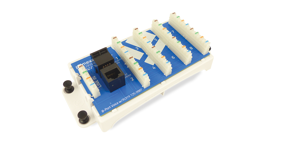 8-Port Voice Module with RJ31X