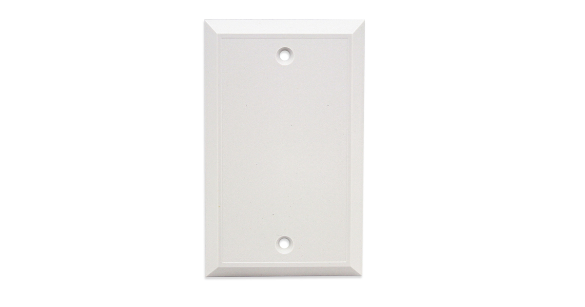 Flush Mount Wall Plate