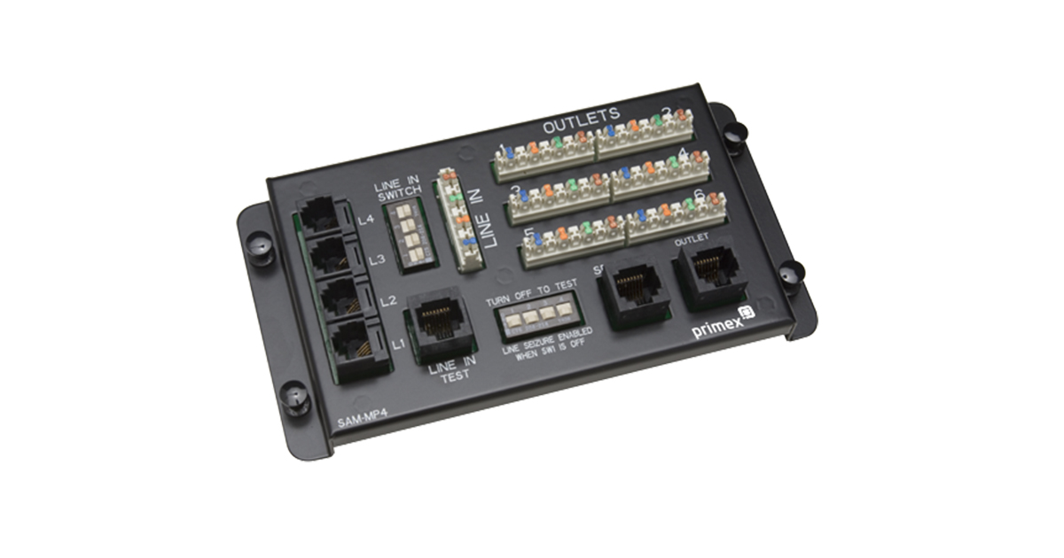 6-Port Multi-Provider Module with RJ45